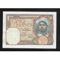 Algeria Pick. 77 5 Francs 1924-41 XF