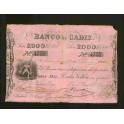 Pick. S 285 2000 reales 25-07-1847 VF