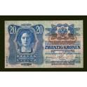 Austria Pick. 53 20 Kronen 1919 XF