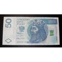 Polonia Pick. 185 50 Zlotych 2012 SC