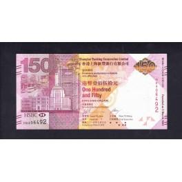 Hong Kong Pick. Nuevo 150 Dollars 2009 SC