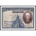 Edifil. C 4 25 pesetas 15-08-1928 SC-