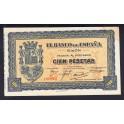 Spain Pick. S 580 100 Pesetas 1937 UNC