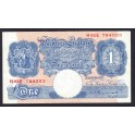 Great Britain Pick. 367 1 Pound 1934-39 VF