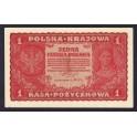 Polonia Pick. 23 1 Marek 1919 SC-