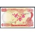 Singapore Pick. 3 10 Dollars 1967-73 AU