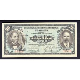 Mejico Pick. S1102 2 Pesos 1915 EBC