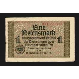 Alemania Pick. R 136 1 Reichsmark 1940-45 SC