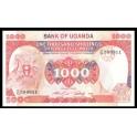 Uganda Pick. 26 1000 Shillings 1986 SC-