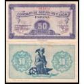 Edifil. C 47 50 centimos 1937 MBC