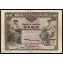 Edifil. B 97 100 pesetas 30-06-1906 MBC