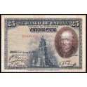 Edifil. C 4 25 pesetas 15-08-1928 MBC
