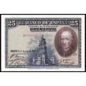 Edifil. C 4 25 pesetas 15-08-1928 SC