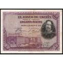 Edifil. C 5 50 pesetas 15-08-1928 EBC
