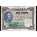 Edifil. B127 100 pesetas 01-07-1925 MBC