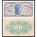 Edifil. C 42a 50 centimos 1937 SC-