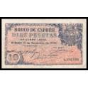 Edifil. D 19 10 pesetas 21-11-1936 MBC