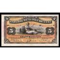 Cuba Pick. 48b 5 Pesos 1896 MBC