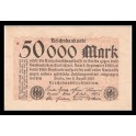 Alemania Pick. 99 50000 Mark 1923 SC-