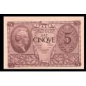 Italia Pick. 31 5 Lire 1944 SC