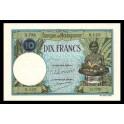 Madagascar Pick. 36 10 Francs 1937-47 SC