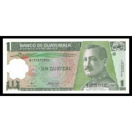 Guatemala Pick. Nuevo 1 Quetzal 2008 SC