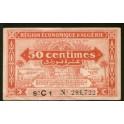 Argelia Pick. 97 50 Centimes 1944 MBC