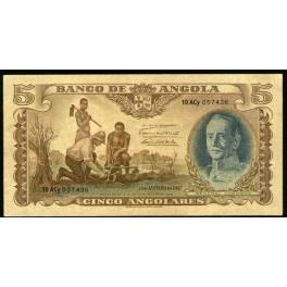 Angola Pick. 77 5 Angolares 1947 MBC