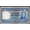 Netherlands Pick. 83 10 Gulden 1949 VF