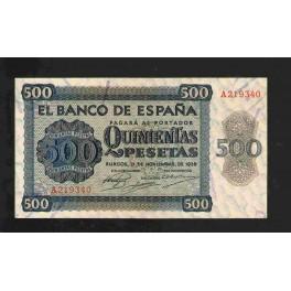 Pick. 102 500 Pesetas 21-11-1936 XF