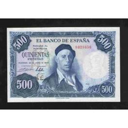 Pick. 148 500 Pesetas 22-07-1954 XF