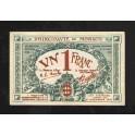 Monaco Pick. 5 1 Franc 1920 EBC