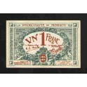 Monaco Pick. 5 1 Franc 1920 SUP