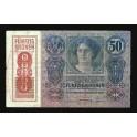 Austria Pick. 54 50 Kronen 1919 VF