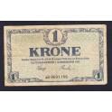 Denmark Pick. 11 1 Krone 1916-21 VF