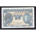Hong Kong Pick. 316 1 Dollar 1940-41 MBC