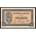 Edifil. C 50 100 pesetas 1937 SC