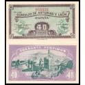Edifil. C 46 40 centimos 1937 SC
