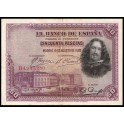 Edifil. C 5 50 pesetas 15-08-1928 MBC