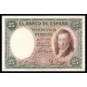 Edifil. C 9 25 pesetas 25-04-1931 EBC