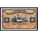 Cuba Pick. 48b 5 Pesos 1896 EBC