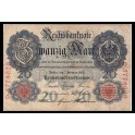 Alemania Pick. 31 20 Mark 1908 MBC