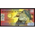 Galapagos Pick. 0 1000 Sucres 2009 SC