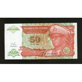 Zaire Pick. 51 50 N.Makuta 24-06-1993 SC