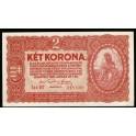 Hungary Pick. 58 2 Korona 1920 AU